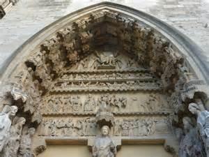 reims la cath 233 drale un des deux portails de la fa 231 ade
