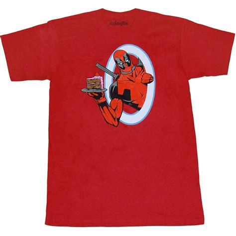 Tshirt Deadpoll New deadpool portal cake t shirt new