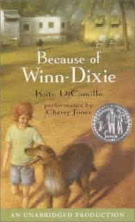 winn dixie open on thanksgiving audio book review because of winn dixie by kate dicamillo