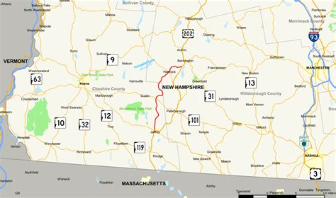 Of New Hshire Global file new hshire route 137 map svg
