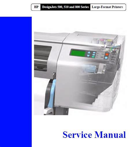 Ink A1 Hp Designjet 500 510 800 Original C7769 60381 designjet 500 510 800 service manual