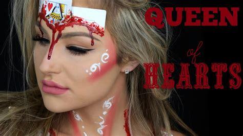 tutorial make up viva quen halloween make up tutorial queen of hearts youtube