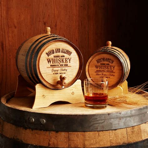 personalized gifts personalized whiskey barrel mini barrel uncommongoods