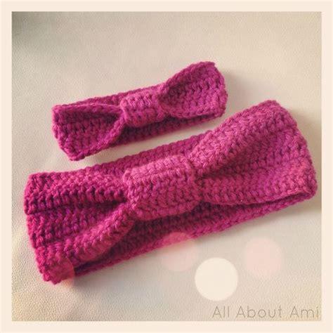 pattern matching head knit baby headband pattern crochet and knit