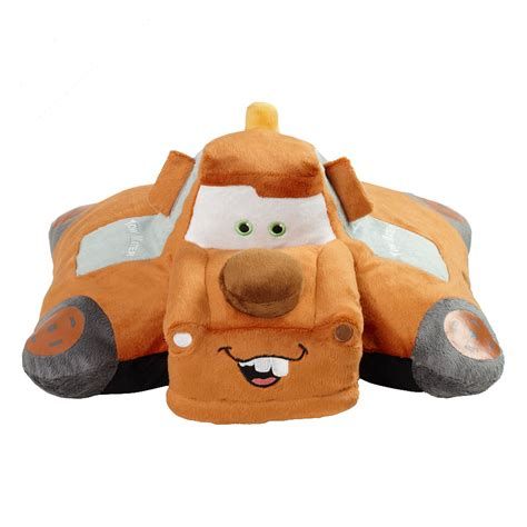 Mater Pillow Pet by Disney Cars Bedding Tow Mater Pillow Pet At Toystop
