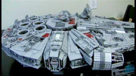 Cetakan Es Batu Model Wars Millennium Falcon lego wars 10179 ucs millennium falcon