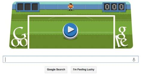 Doodle Tests Your Soccer Skills