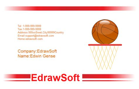 Sports Business Cards Templates Free Sport Business Card Templates