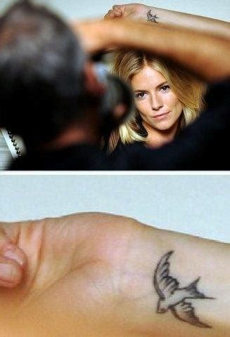 sienna miller tattoo miller baroness pictures to pin on
