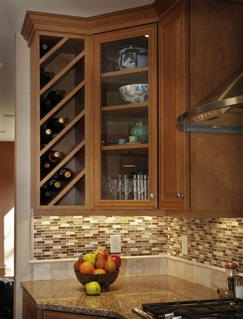 Kitchen Wine Cabinets Best 25 Wine Rack Cabinet Ideas On