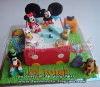 Cetakan Puding 4 Bentuk Kepala Mickey Mouse kue ulang tahun anak cupcake birthday cake mickey mouse donald duck and friend on the bed