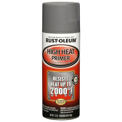 High Heat rust oleum automotive 12 oz high heat primer gray spray