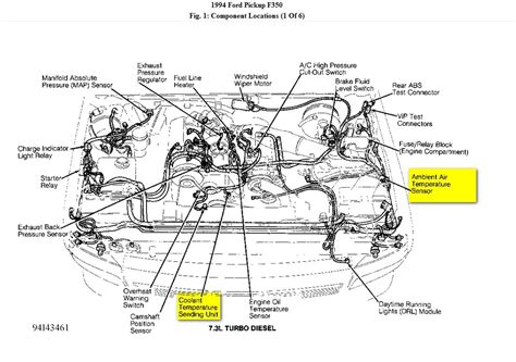 2000 ford expedition motor diagram of coolant temp wiring