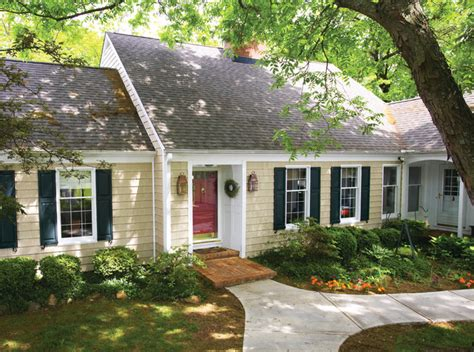 Whitehouse Interiors by Cape Cod Built With Vinyl Siding Traditional Exterior