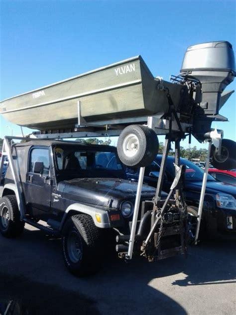 boat car jeep driving a jeep add a jon boat angie s blog spot
