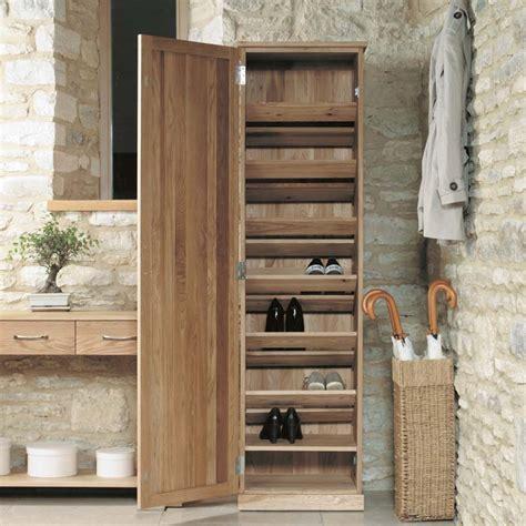 narrow shoe storage mobel oak narrow shoe storage cupboard duck barn