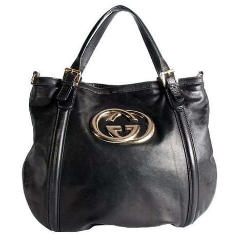 Gucci Gucci Britt Handbag by Gucci Leather Britt Hobo Handbag