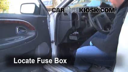 interior fuse box location   volvo   volvo    cyl turbo