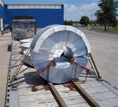 Coil Racks For Flatbeds by Flatbed Load Securement Truckined