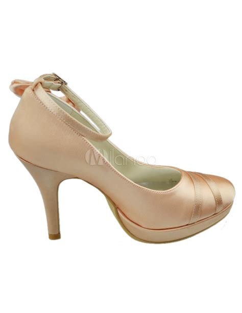 Chagne Bridal Shoes by Chunky Heel Wedding Shoes 28 Images Chunky Wedding