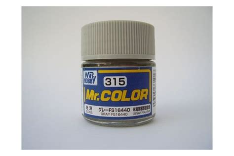 Mr Color Gray Fs16440 C315 gunze sangyo mr hobby c315 4973028735017 mr color 315