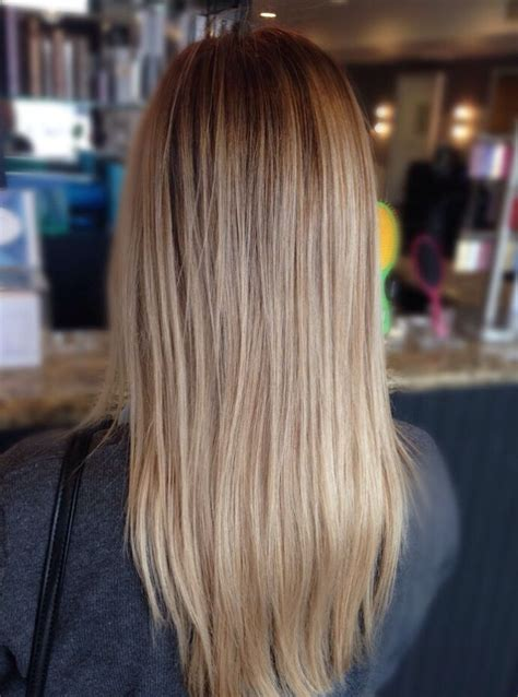 blonde balayage highlights straight hair 25 best hair by lauren nicole images on pinterest brown