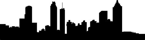 atlanta skyline clipart clipart best