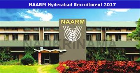 Mba Admission 2017 Hyderabad by Naarm Hyderabad Program Associate 2017