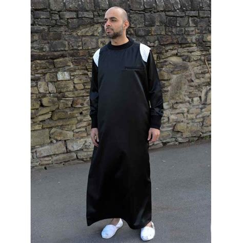 Ikn Dress Muslim Burbery jubbas mens throbes muslim clothes thaubsislamic