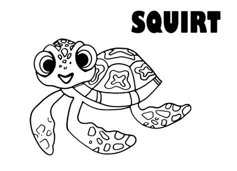 Cute Sea Turtle Ba Coloring Pages sketch template