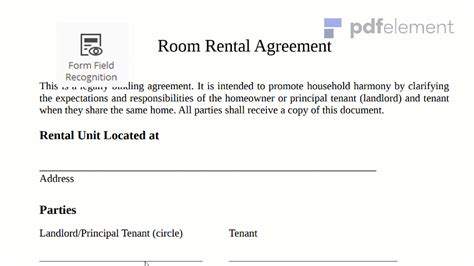 simple tenancy agreement template malaysia simple tenancy agreement template malaysia room rental