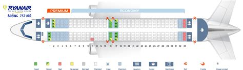 Ryan Home Floor Plans by Seat Map Boeing 737 800 Ryanair Best Seats In Plane