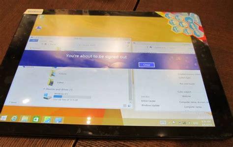 Tablet Windows Dan Android tablet cube i6 air 3g ini menggunakan os windows dan