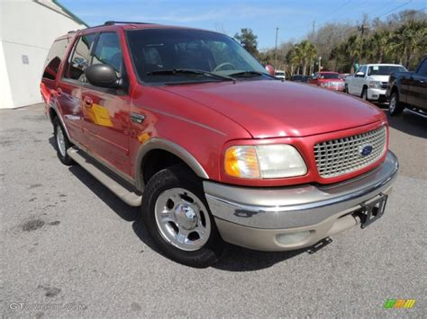 ford expedition red 2001 laser red ford expedition eddie bauer 77361588