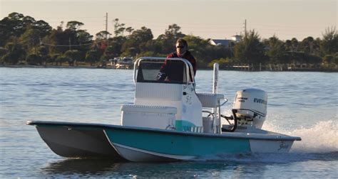 Stable Floor Plans shoalwater boats 21 foot catamaran shallow fishing boat