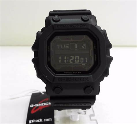 Casio G Shock Gx 56bb 1dr Original casio g shock black series solar power gx 56bb 1