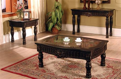 Living Room Coffee Tables And End Tables Ajax Coffee And End Table Living Room Furniture Set Xiorex