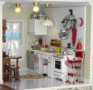 miniature dollhouse kitchen furniture dollhouse miniatures retro modern kitchen from miniatures