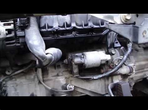2003 toyota corolla starter problems how to replace start motor toyota corolla vvt i engine