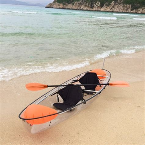 2 person boat transparent canoe 2 person boat crystal clear kayak buy