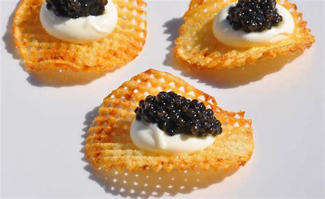 Blueduck Potato Chips duck gaufrettes with caviar recipe d artagnan