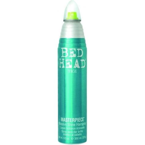 bed head spray tigi bed head masterpiece massive shine hair spray