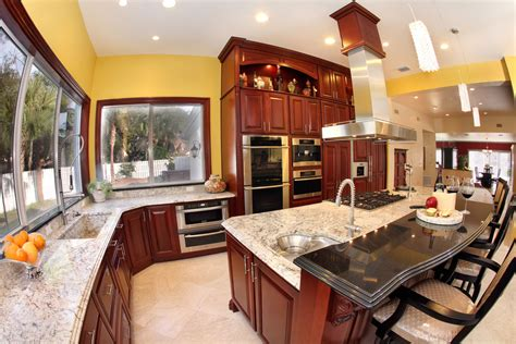 Black And Wood Kitchen Cabinets by Selecting Kitchen Countertops Cabinets And Flooring Adp