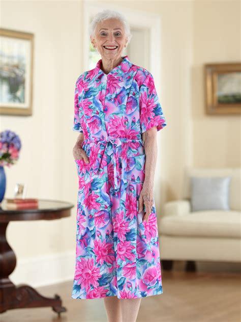 Eledy Dress sleeve polyester house dress 35 buck buck