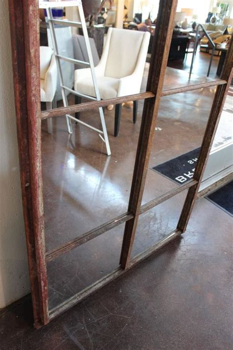 arch industrial window frame floor mirrors at 1stdibs