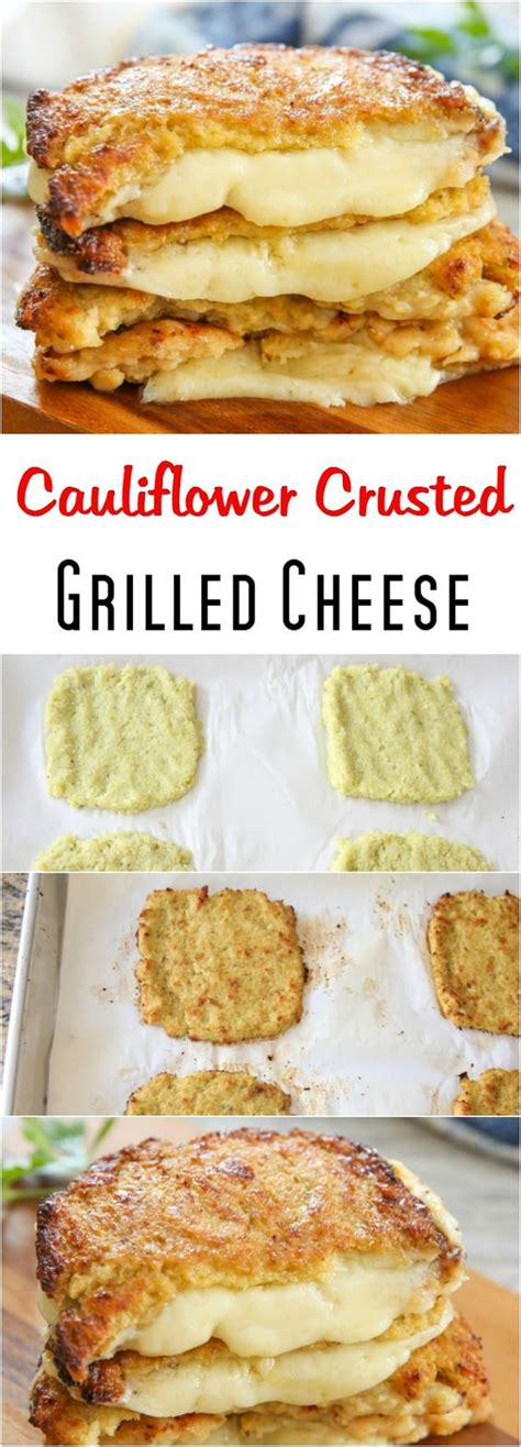 cauliflower grilled cheese grilled cheeses cauliflowers and cheese on pinterest