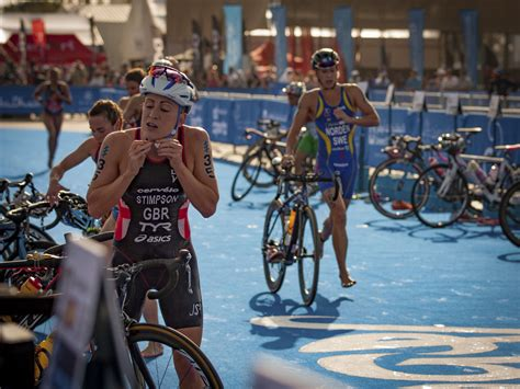 couch to olympic triathlon 10 tips for faster triathlon transitions active
