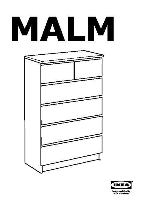 Ikea Commode Malm 6 Tiroirs by Malm Commode 6 Tiroirs Blanc Ikea Ikeapedia