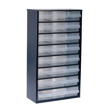 raaco 1200 series small parts storage cabinet 1224 02 137409