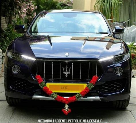 Maserati India by Bengaluru Gets 1st Maserati Levante In India Months Before